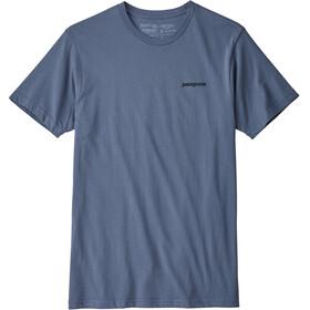 Patagonia M's P-6 Logo Organic T-Shirt Dolomite Blue